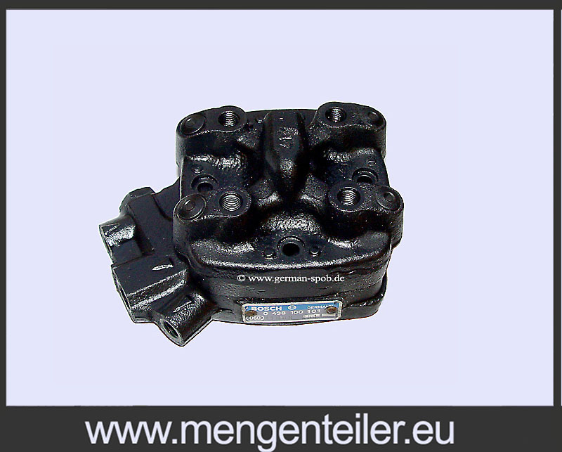 0438100101 | 0 438 100 101 Fuel Distributor Bosch | Repair | BMW  - mengenteiler.eu