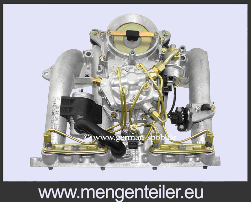 0438101026 | 0 438 101 026 Fuel Injection System 👉 Regenerated 👈 M102   KE Jetronic Bosch | Mercedes Benz  - mengenteiler.eu