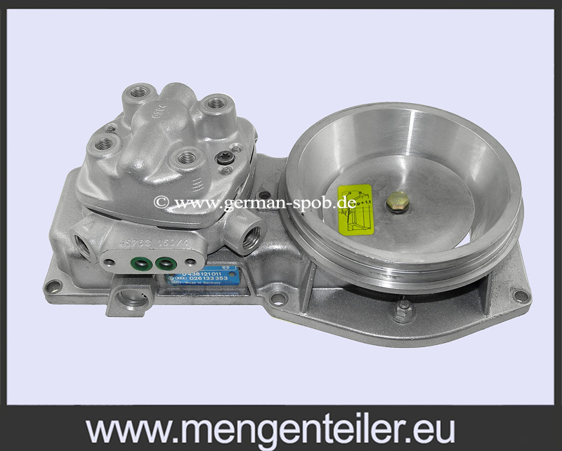 0438101030 | 0 438 101 030 Fuel Distributor with 0438121011 | 0 438 121 011 Air Flow Meter | 👉 Regenerated 👈 FORD  - mengenteiler.eu