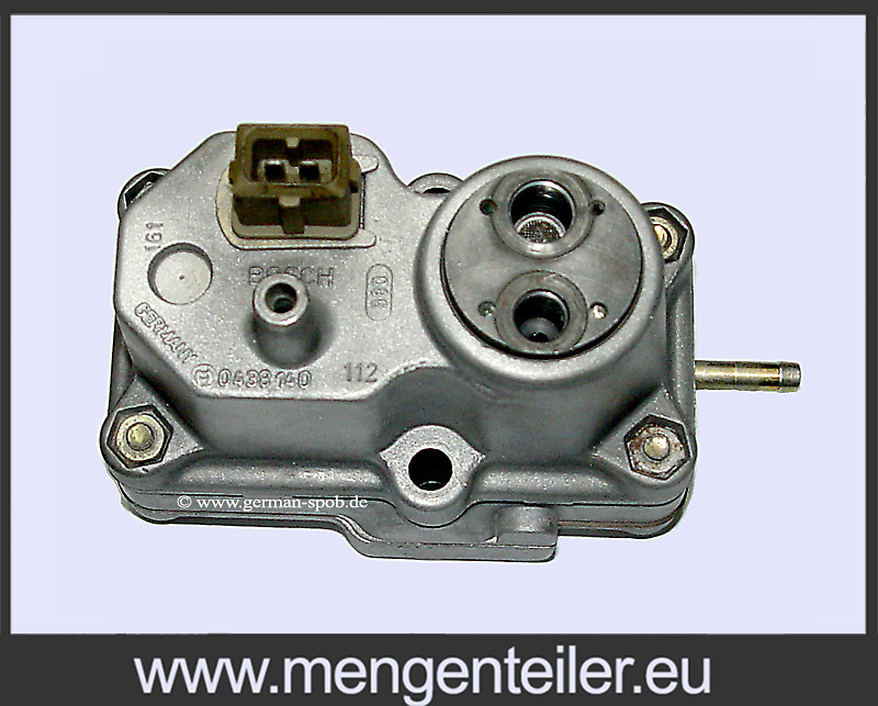 F 026 TX2 107 | F026TX2107 BOSCH 0438140112 | 0 438 140 112 Warm up regulator | Porsche 911 3.3 Repair service Porsche911 3.3 TurboPorsche911 3.3 Turbo  - mengenteiler.eu