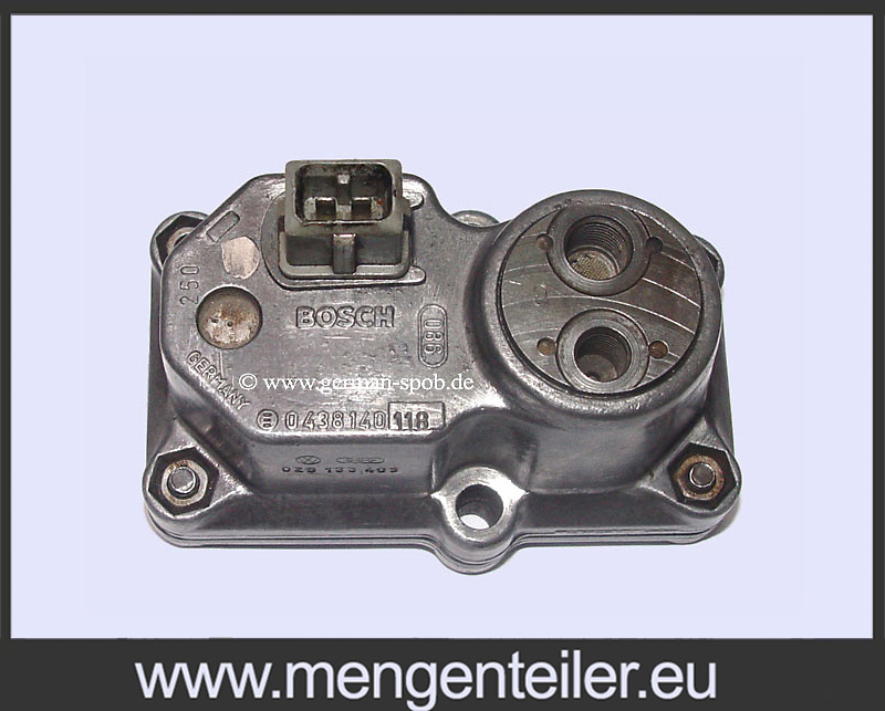 F 026 TX2 114 | F026TX2114 BOSCH 0438140118 | 0 438 140 118 Warm up regulator | Audi VWAudi VW  - mengenteiler.eu