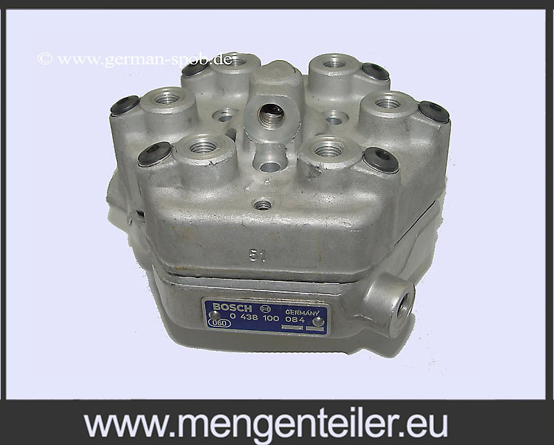 0438101084 | 0 438 101 084 Fuel Distributor 👉 Regenerated 👈 Bosch | Mercedes Benz - mengenteiler.eu