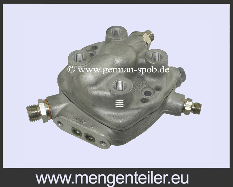 0438101002 | 0 438 101 002 Fuel Distributor 👉 Regenerated 👈 Bosch | Mercedes Benz  - mengenteiler.eu