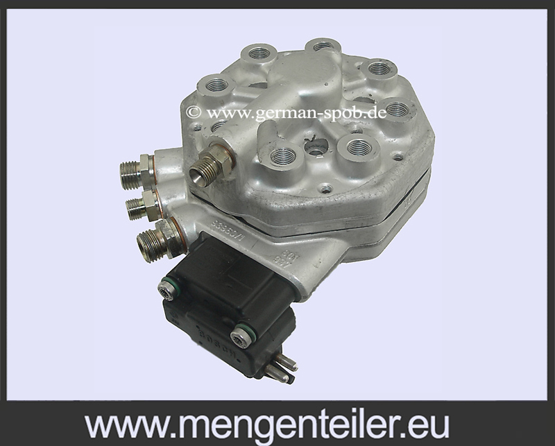 0 986 438 217 | 0986438217 Bosch 0438101018 | 0 438 101 018 Fuel Distributor with EHS 👉 Regenerated 👈 Mercedes BenzMercedes Benz - mengenteiler.eu