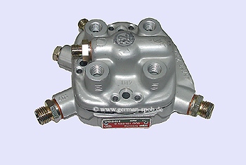 0438101004 | 0 438 101 004 Fuel Distributor 👉 Regenerated 👈 Bosch | Mercedes Benz 190  mengenteiler.eu